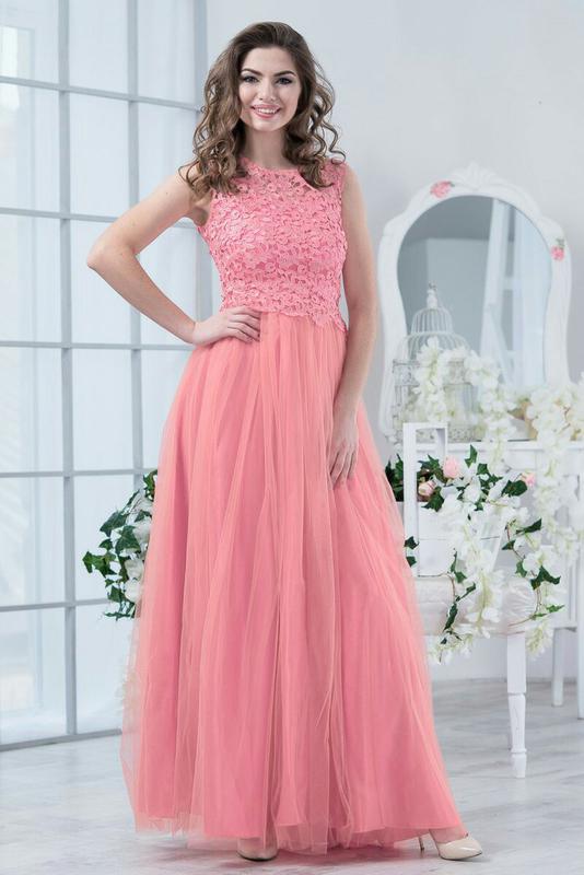 Фото фатиновое платье 167