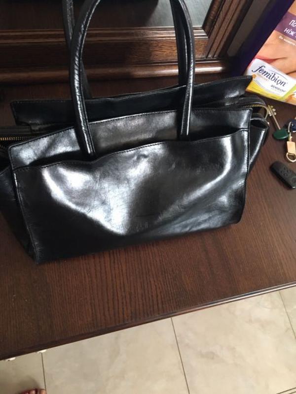 87354984d9a2 Кожаная итальянская черная сумка, цена - 900 грн, #9979452, купить ...