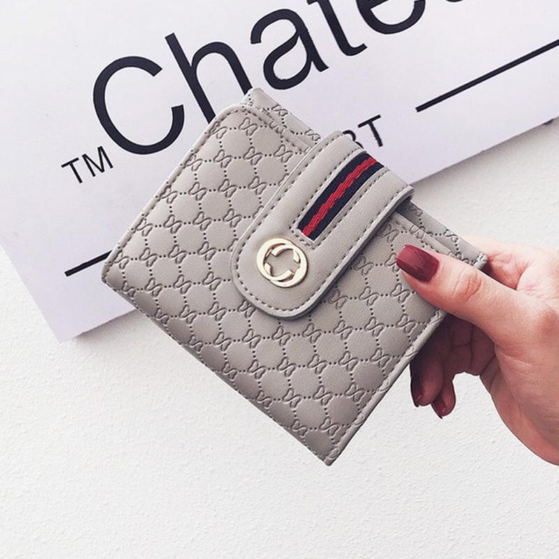 4116c0f4c3f7 Серый кошелек гуччи gucci брендовый новинка маленький модный стильный1 фото  ...