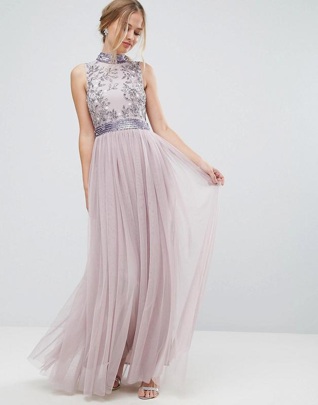 Amelia rose роскошное декорированное лиловое платье на выпускной1 ... 4abbfae4cc6cc