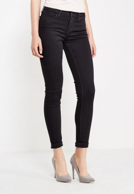 61f47390e01 Черные джинсы женские узкие джинсы джинсы скинни черные джинсы1 фото ...