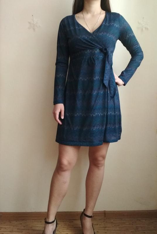 b297595bef2 Синее платье с завышенной талией Tcm Tchibo
