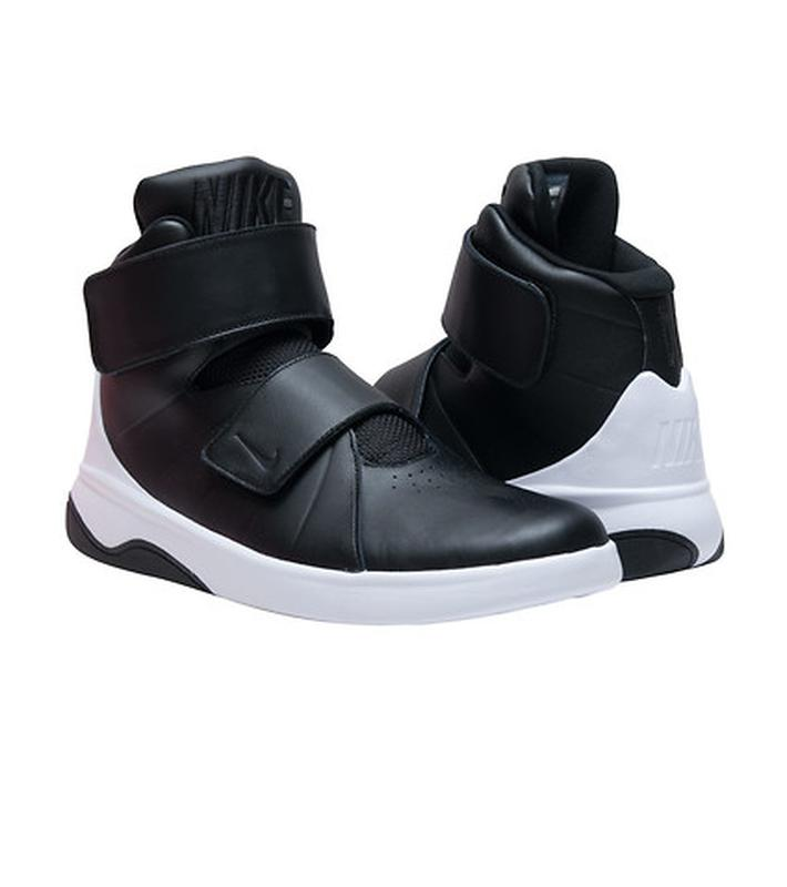 58e1b3fa Чёрные кожаные ботинки высокие кроссовки nike на липучках Nike, цена ...