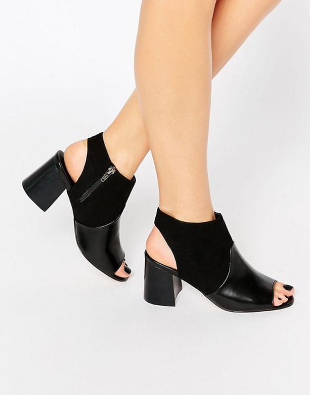Ботинки с открытым носком и пяткой asos 901d60af1c7e6