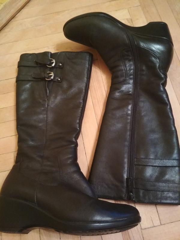 Чоботи зимові чорні шкіряні   сапоги зимние черные кожанные welfare1 ... ba46dd00ae148