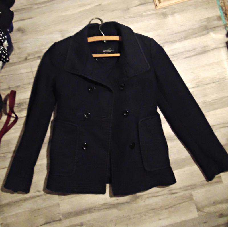 Пальто-пиджак mango  стильное полупальто Mango 5d99fa78ac454