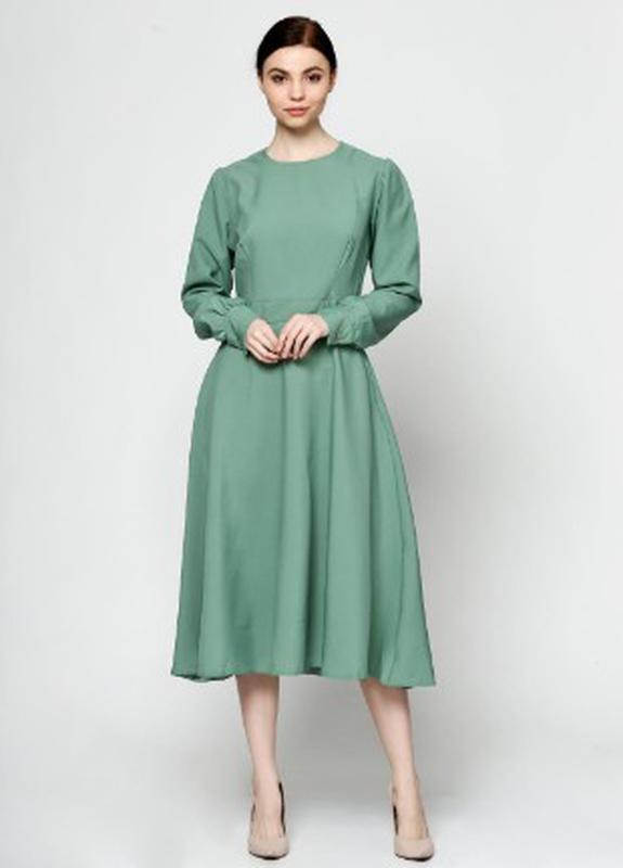 b4a88d03d05 Классическое платье с длинными рукавами1 фото ...