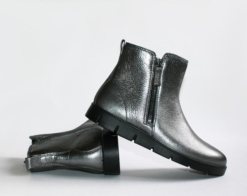 eb8632054 ... Женские ботинки ecco bella серебро натуральная кожа 38-41 р.3 фото ...
