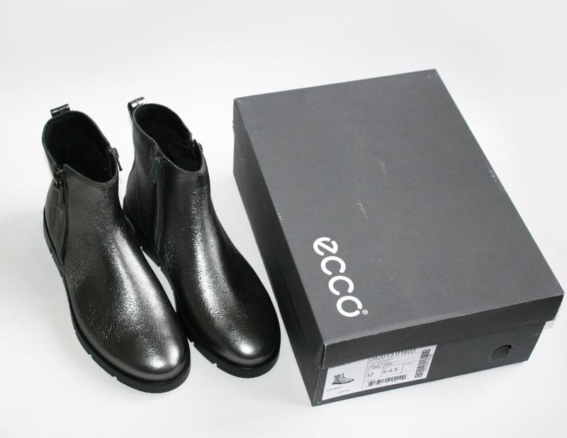 ced4ba790 ... Женские ботинки ecco bella серебро натуральная кожа 38-41 р.2 фото ...