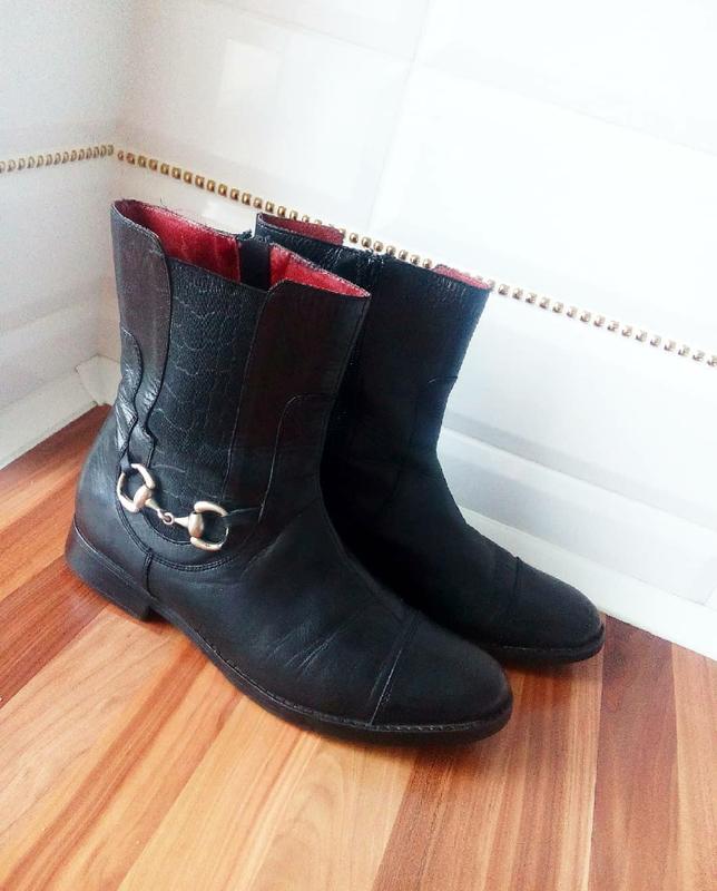 Шкіряні черевики челси полуботинки1 ... 998151e84a55d