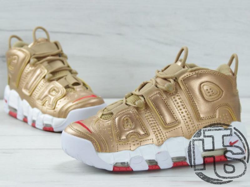 0fee5df6 Женские кроссовки nike air more uptempo 96 metallic gold Nike, цена ...
