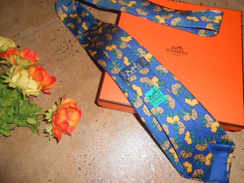 Hermes! галстук! 100% оригинал! Hermes, цена - 600 грн,  10168705 ... c73b145fdf6