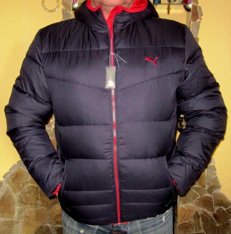 6276402df Пуховик puma ess hooded down jacket,раз l -3200гр Puma, цена - 3200 ...
