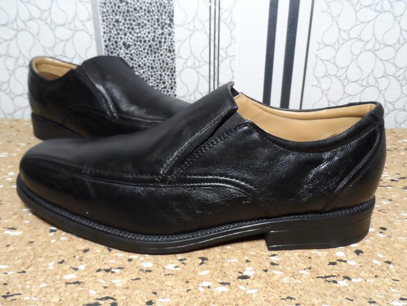 Кожаные туфли clarks! производство индия! 43 р. Clarks 3114fae42b625
