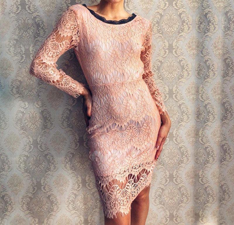 Платье с дорогого кружева фото цвета