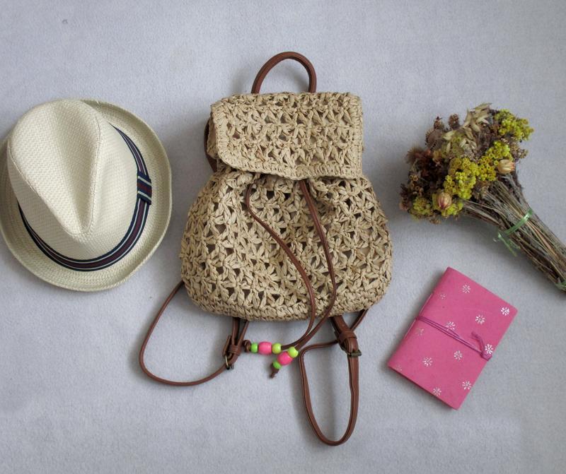 Рюкзак плетёный рюкзаки детский