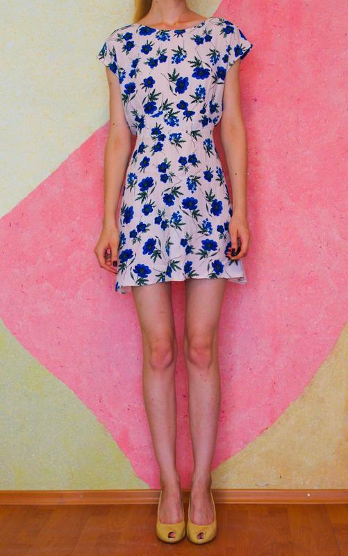 Платье new look приталенное лекое с цветочным принтом New Look c72cee3bee35d