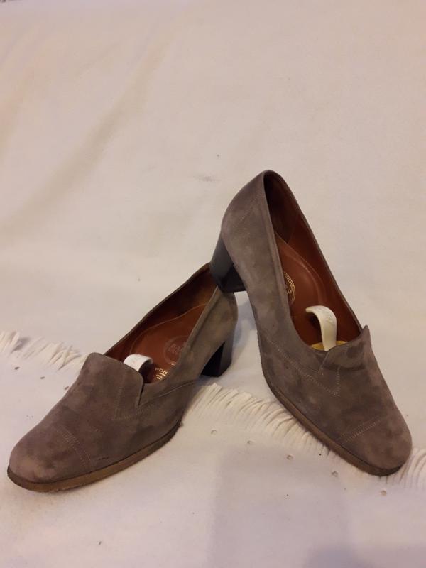 60fde3b91497 Замшевые брендовые туфли от bally vasano ( швейцария) р. 39 стелька 25,5 ...