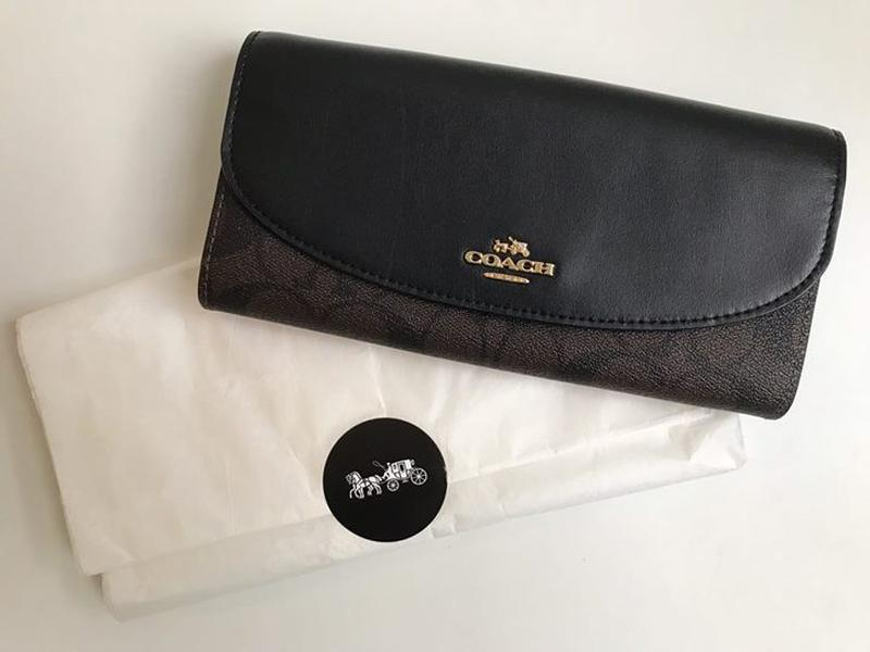 Кошелек женский coach new york long wallet. оригинал Coach, цена ... f40cbf8d619