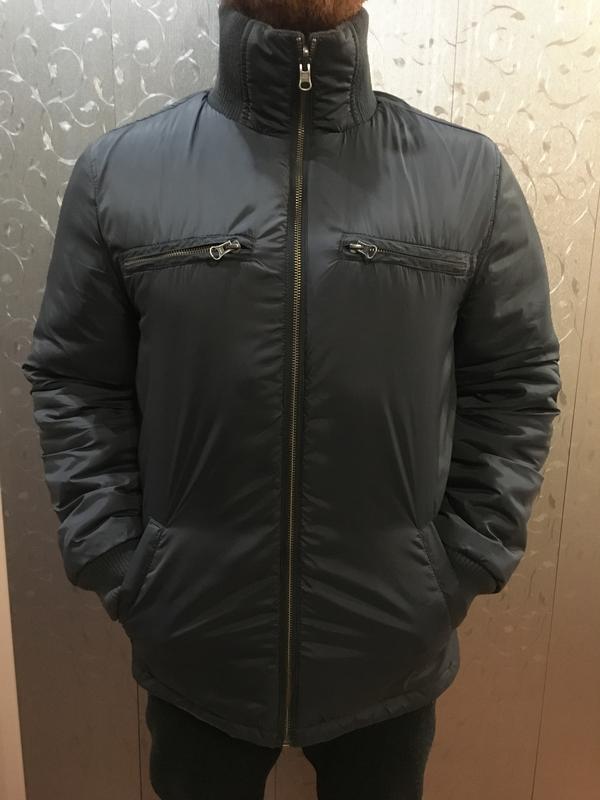 578a5ebc88e Двухсторонняя мужская куртка весна-осень1 фото ...