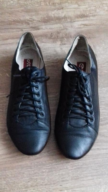Натуральні шкіряні кросівки туфлі закриті на шнурку на весну1 ... e34963030a183