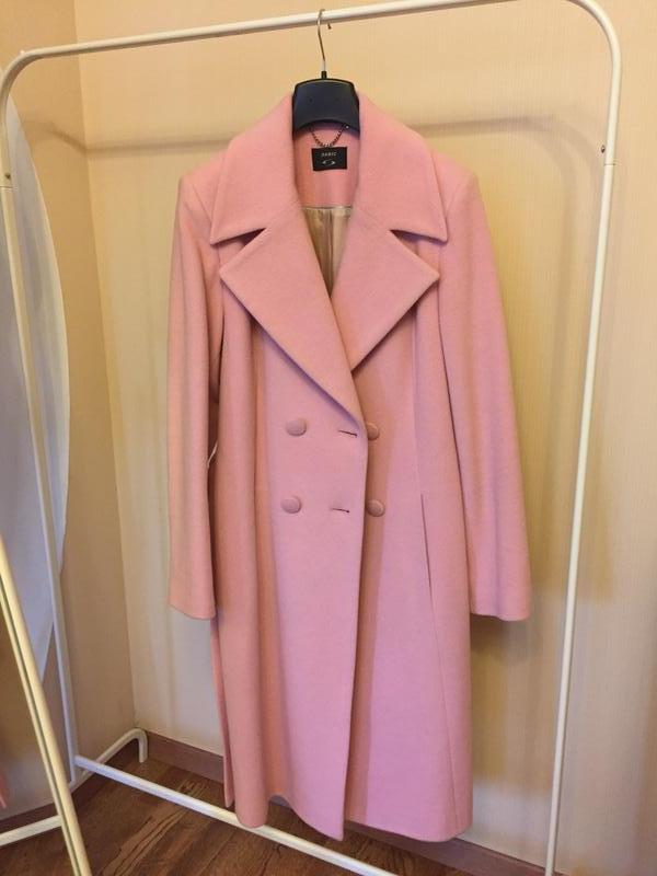 561621d0d4c Модное пальто цвета розовый кварц1 фото ...