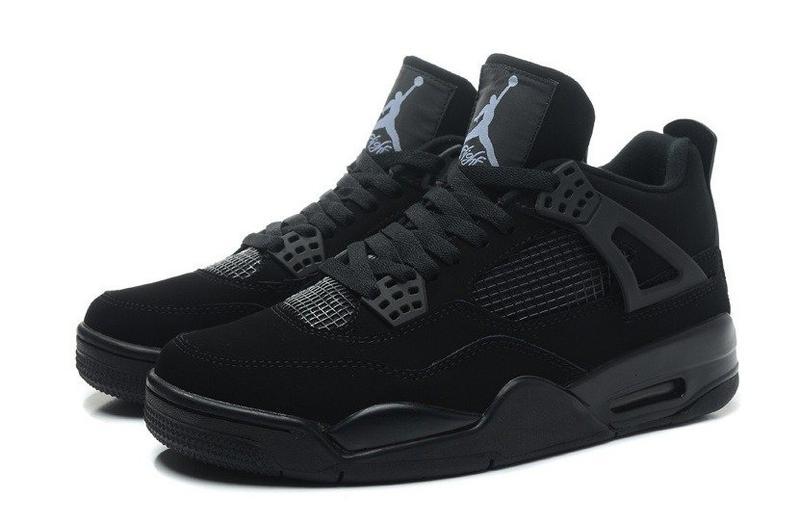 Баскетбольные кроссовки nike air jordan iv retro black 41-46р., цена ... ed92a5bff39