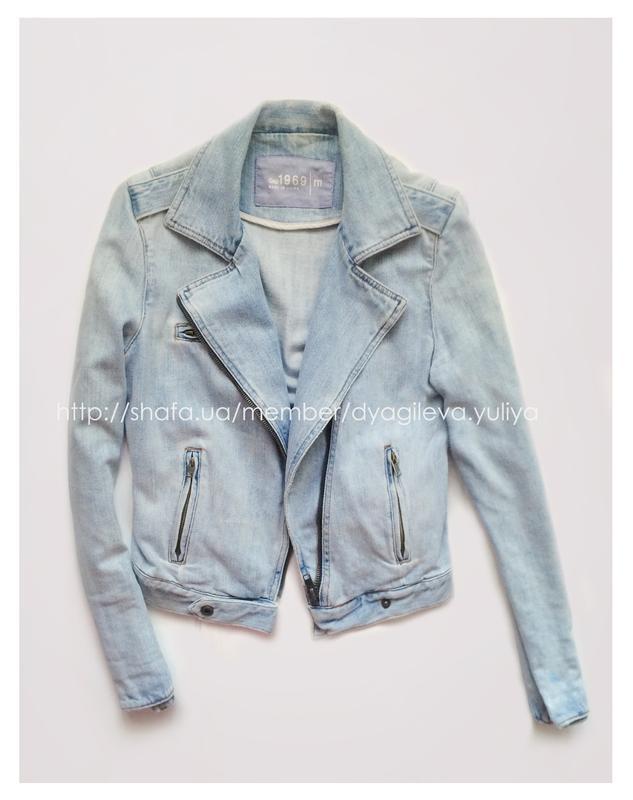 69fbbeaeb Джинсовая куртка - косуха из винтажной коллекции gap GAP, цена - 650 ...