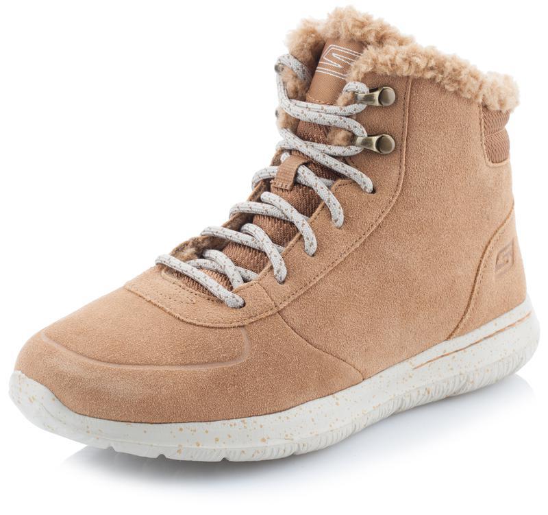 Ботинки утепленные женские skechers on-the-go  чёрная пятница -10%1 ... f976166734e
