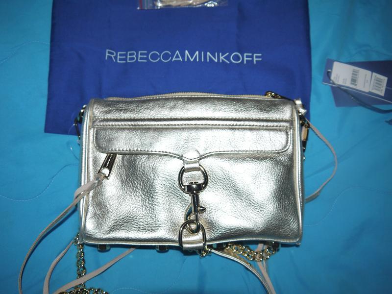 a5b6e3173a71 Кожаная сумка-клатч rebecca minkoff яркого золотого цвета.1 фото ...