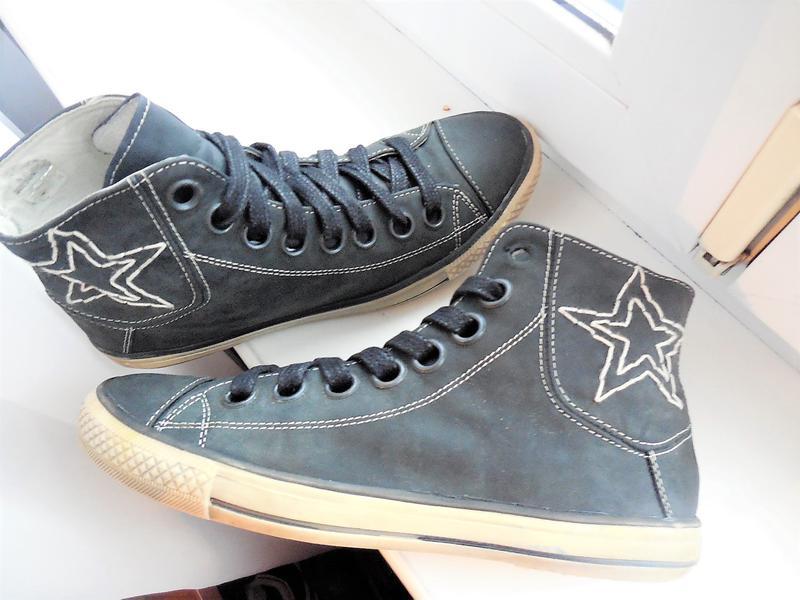 7eaedb7ac Ботинки converse кроссовки высокие кожаные кеды 39р.- 25см Converse ...