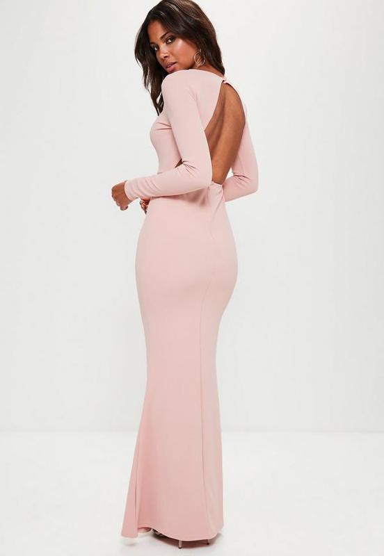 3c872c864a0 Missguided макси платье-рыбка с открытой спиной вечернее Missguided ...
