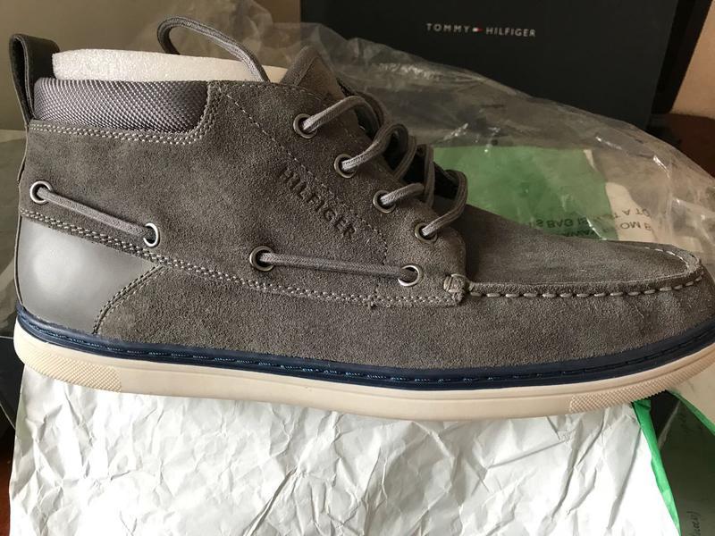 Tommy hilfiger весна-осень мужские ботинки Tommy Hilfiger 2f277e48ee159