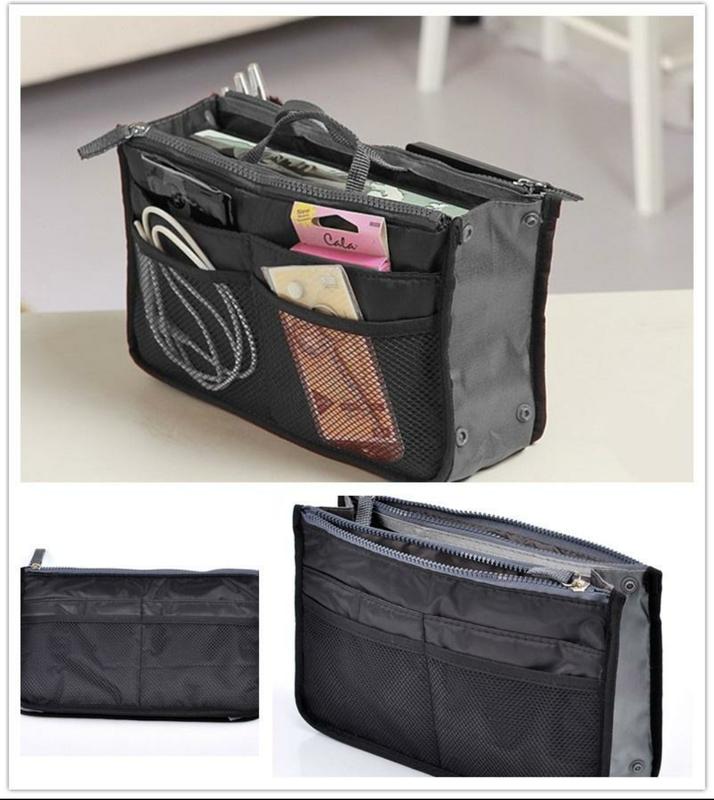 7a226f9ff747 Косметичка органайзер для сумки bag in bag для косметики и аксессуаров1  фото ...