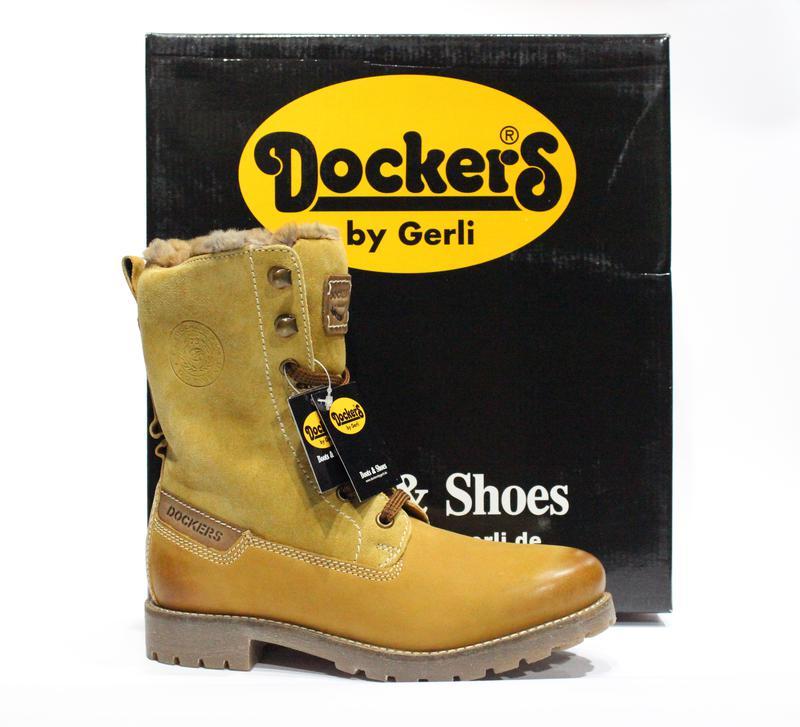 Шикарні зимові ботіночки dockers by gerli 04a63c16a65bb