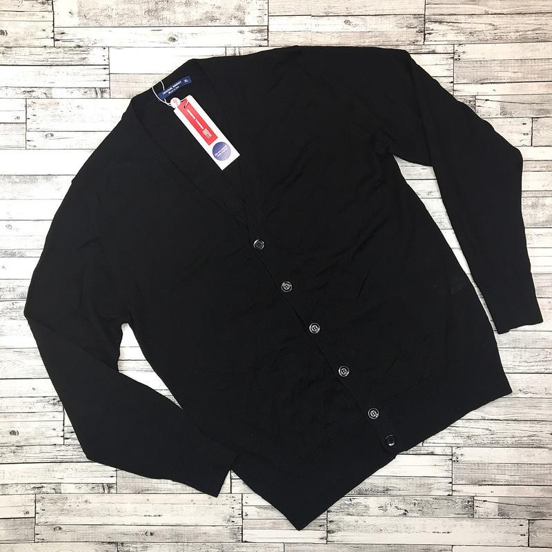 италия мужской вязаный шерстяной кардиган кофта на пуговицах под рубашку