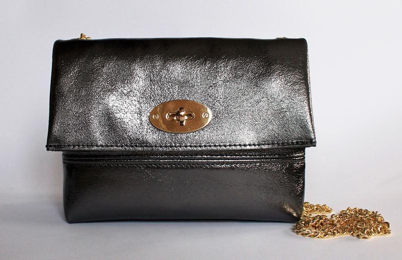 43ee83b0e6c2 Итальянская кожаная сумка клатч, натуральная кожа, италия Vera Pelle ...