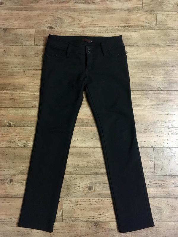 Тёплые утеплённые на флисе зимние штаны брюки плотные р. 38 b8f0a65e526dd