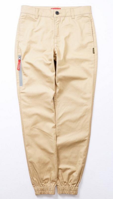 Supreme jogger pants цвет бежевый карго джогеры штаны брюки джоггеры  чиносы1 ... e01daaa80adc1