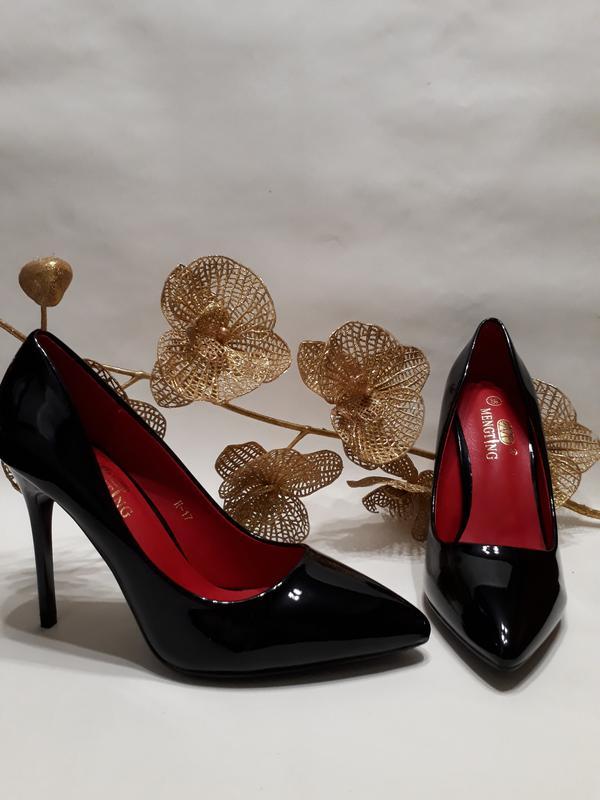 Акція! туфлі лодочки (туфли лодочки) чорного кольору 4a4366022a7cc