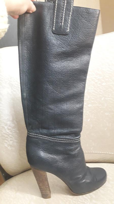 Кожаные сапоги. за 950 грн.  1691097b1dc9f