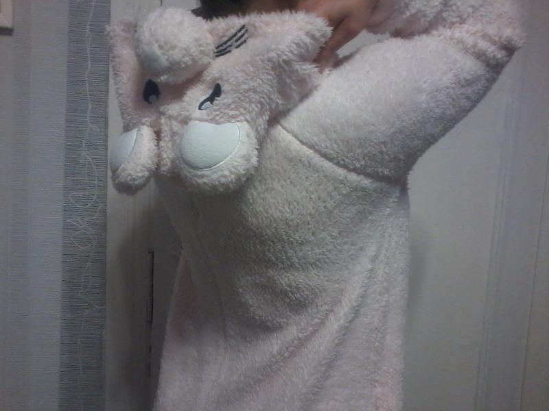 Мишка собака слип кигуруми ромпер пижама домашний человечек s-m Love ... d27c16a7f1a82