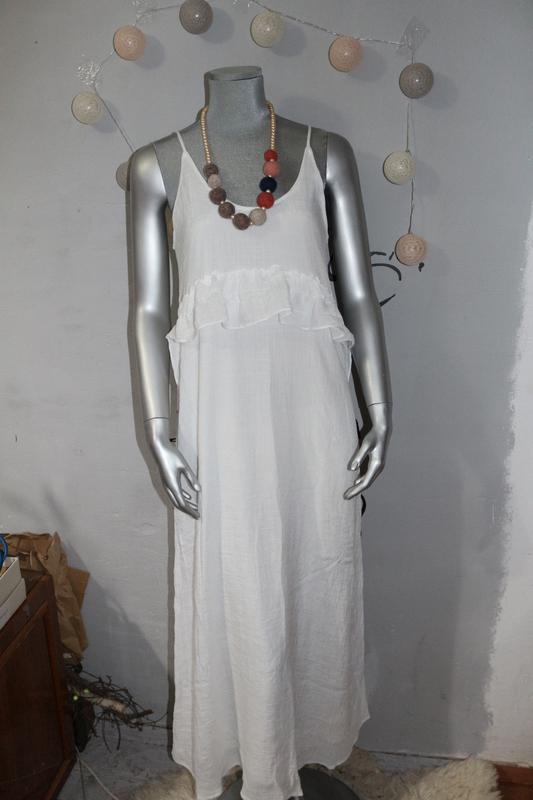 e092b4c9228 ... Белое платье макси сарафан zara3 фото ...