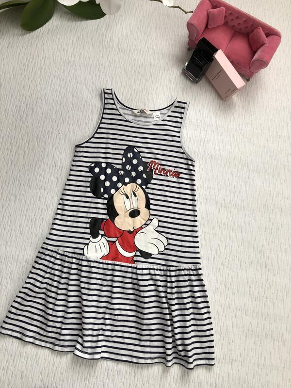 Полосатое платье на девочку 8- 10 лет от h m1 ... 4f09fba34d065