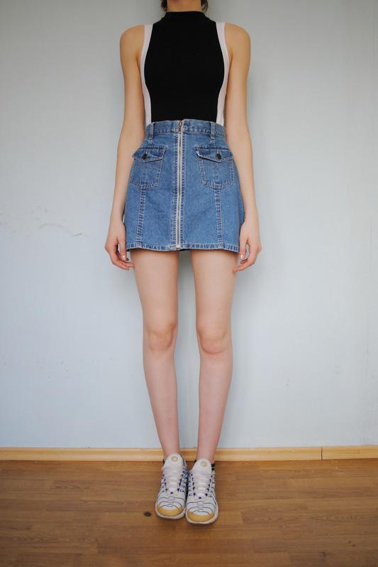 c83b4d63564 Джинсовая юбка с молнией levis оригинал1 фото ...