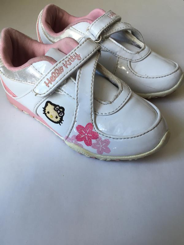 Детские фирменные кроссовки 27р Hello Kitty, цена - 150 грн ... 0cee37107f7