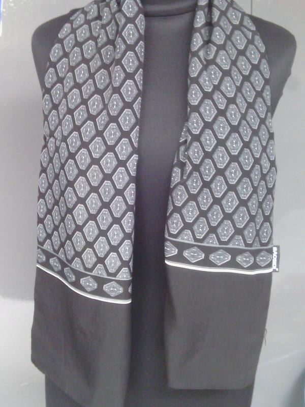 Мужской шелковый шарф кашне на утеплении ромб в наличии, цена - 120 ... 96a0e3edf39