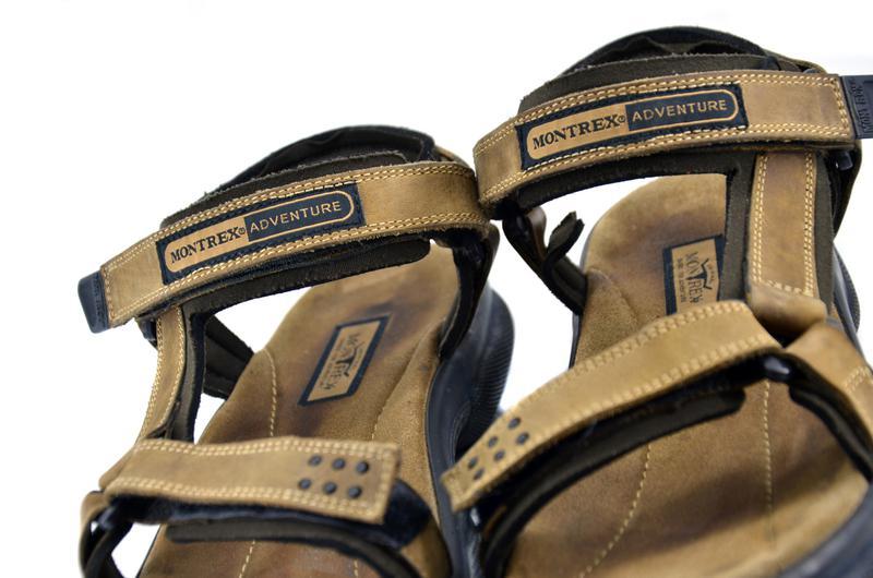 Onwijs Кожаные сандалии montrex adventure. стелька 26, 5 см, цена - 599 EB-14