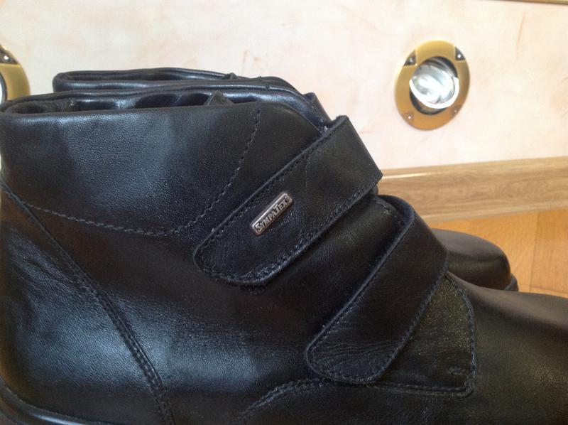 dadca771d Мужские ортопедические демисезонные кожаные ботинки Solidus, цена ...