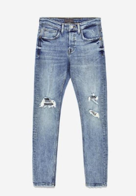 a2e47e681bb Мужские новые джинсы zara